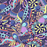 Abstract seamless pattern. Color, doodle Royalty Free Stock Photography