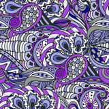 Abstract seamless pattern. Color, doodle Stock Photos