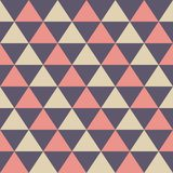 Abstract seamless pattern of color triangles. Modern stylish elegant texture. vector illustration