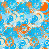 Abstract seamless pattern of colored circles Stock Photography