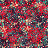 Abstract seamless pattern of colored spots similar to the skull Royalty Free Stock Photography
