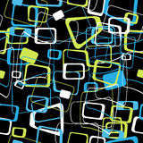 Abstract seamless pattern of colored Stock Image
