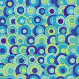 Abstract seamless pattern with colorful circles. Color abstract seamless pattern with colorful circles Stock Images