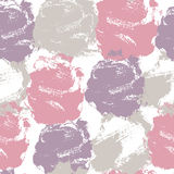 Abstract seamless pattern with colorful stains and smears Stock Image