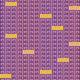 Abstract seamless pattern. Cross-stitch. Crafts and Hobbies. Royalty Free Stock Photo