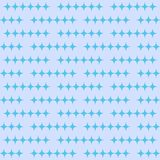 Abstract seamless pattern with diamonds. Vector background in blue shades stock illustration