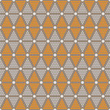 Abstract seamless pattern of dots and circles Stock Image