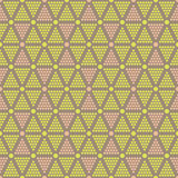 Abstract seamless pattern of dots and circles Stock Photos