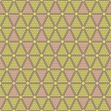 Abstract seamless pattern of dots and circles Stock Photos