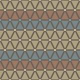 Abstract seamless pattern of dots and circles Royalty Free Stock Photo