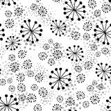 Abstract seamless pattern with dots Stock Image
