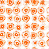 Abstract seamless pattern. Dudle backgrounds. Stock Photography