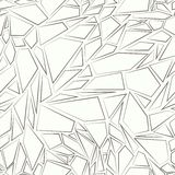 Abstract seamless pattern. The effect of broken glass.  royalty free illustration