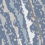 Abstract seamless pattern of the elements mosaic. The texture of the fabric. Seams and stitches on the material Royalty Free Stock Images