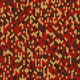 Abstract seamless pattern of the elements mosaic. The texture of the fabric. Seams and stitches on the material Stock Image