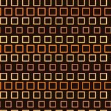 Abstract seamless pattern, endless texture of orange squares on dark background royalty free stock photography