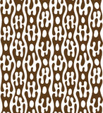 Abstract seamless pattern. Ethnic motif. Colorful organic shapes Stock Photography