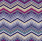 Abstract seamless pattern in ethnic style. Warm fabric. royalty free illustration