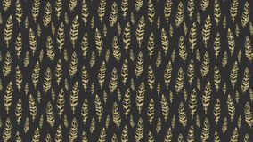 Abstract seamless pattern with feathers stock video