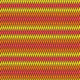 Abstract seamless pattern in fire colors Royalty Free Stock Image