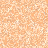 Abstract seamless pattern. With floral elements Stock Image