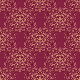 Abstract seamless pattern. Abstract floral hand drawn seamless pattern.Vintage texture.Wallpaper background for your design.Vector illustration Stock Photography