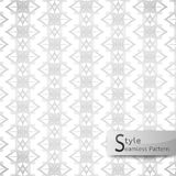 Abstract seamless pattern floral mesh. white texture background Stock Photo