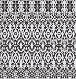 Abstract seamless pattern floral style Royalty Free Stock Photo