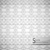 Abstract seamless pattern flower bow mesh. white texture backgro Royalty Free Stock Photography