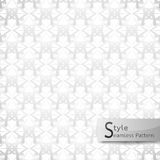 Abstract seamless pattern flower mesh. white texture background Stock Photos