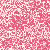 Abstract seamless pattern with flowers Stock Photo