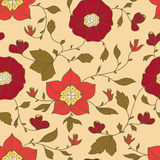 Abstract seamless pattern with flowerss. Seamless wallpaper for your design Stock Image