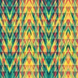 Abstract seamless pattern with geometric elements. Vector background Stock Image