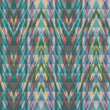 Abstract seamless pattern with geometric elements. Vector background Stock Photography