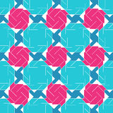 Abstract seamless pattern. Geometric figures of different shapes Royalty Free Stock Photos