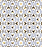 Abstract seamless pattern. geometric ornament. Background in retro 1960s style Stock Photo
