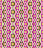 Abstract seamless pattern. geometric ornament. Background in retro 1960s style Stock Photos