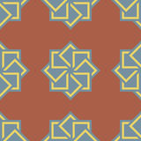 Abstract seamless pattern Geometric shape squares Stock Photos