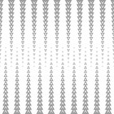 Abstract seamless pattern of geometric shapes. Dithered colors in the image. Pattern on a white background Stock Images