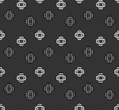 Abstract. seamless pattern with geometric shapes and symbols. Seamless pattern with a geometric shapes Royalty Free Illustration
