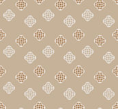Abstract. seamless pattern with geometric shapes and symbols. Seamless pattern with a geometric shapes Stock Photography