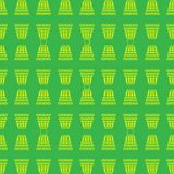 Abstract. seamless pattern with geometric shapes and symbols. Seamless pattern with a  tracery  pattern on a green  background Royalty Free Stock Photography