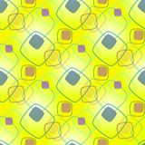 Abstract seamless pattern for girls, boys, clothes. Creative background with dots, geometric figures Funny wallpaper for textile and fabric. Fashion style Stock Image