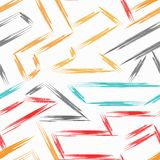 Colored abstract seamless pattern in graffiti style quality vector illustration for your design. Abstract seamless pattern in graffiti style quality vector stock illustration