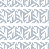 Abstract seamless pattern of gray lines and triangles. Stock Images