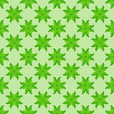 Abstract seamless pattern with green leaves Royalty Free Stock Photography