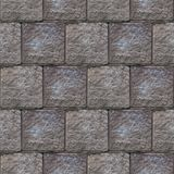 Abstract seamless pattern of grey stone blocks in the wall royalty free stock image