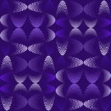 Abstract seamless pattern, halftone effect, that make up wavy futuristic lines. royalty free illustration