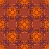 Abstract seamless pattern in Halloween colors Stock Image