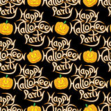 Abstract seamless pattern for Halloween. stock photo